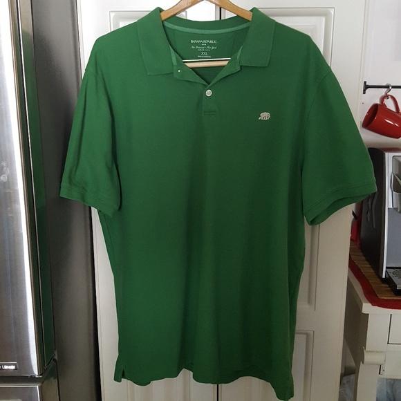 96e3ddc63ba25 Banana Republic Other - Banana Republic Polo Golf Shirt with Elephant Logo